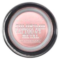 Maybelline New York Eyestudio ColorTattoo Metal 24HR Cream Gel Eyeshadow, Inked in Pink, 0.14 Ounce (1 Count)