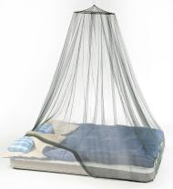 Atwater Carey Mosquito Net Treated with Insect Shield Permethrin Bug Repellent, Hanging Spider Screen Canopy Bed Net