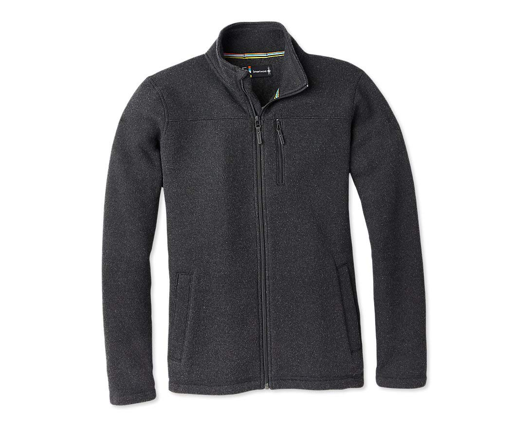 Smartwool Fleece Full Zip Jacket - Men's Hudson Trail Merino Wool Outerwear