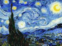 "Paint by Numbers for Adults by BANLANA, DIY Adult Paint by Number Kits for Beginners on Canvas Rolled 16"" by 20"" (Van Gogh The Starry Night)"