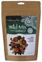 Wilderness Poets, Song of Harvest Wild Mix - Raw Trail Mix - Hazelnuts, Pumpkin Seeds, Cranberries, Golden Raisins, Sunflower Seeds - 8 Ounce