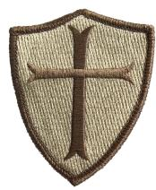 Crusader Shield Shoulder Patch