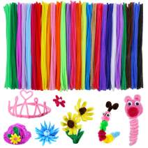 Caydo 324 Pieces Pipe Cleaners 27 Colors Chenille Stems for Valentine Day DIY Art Creative Crafts Decorations (6 mm x 12 Inch)