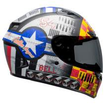 Bell Qualifier DLX MIPS Full-Face Motorcycle Helmet (Devil May Care 2020 Matte Gray, XXX-Large)