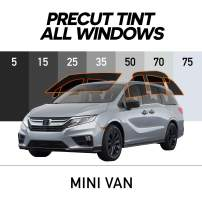 MotoShield Pro - Premium Precut Ceramic Window Tint for Mini Van [99% Infrared Heat Reduction/Blocks 99% UV] 2mil - All Windows