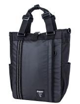 Leaper Multifunctional Laptop Backpack Messenger Shoulder Bag Travel Bag Black