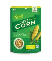 Karen's Naturals Just Tomatoes, Organic Just Corn 3 Ounce Pouch (Pack of 4) (Packaging May Vary)