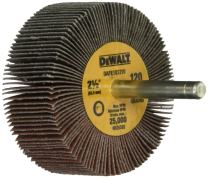 DEWALT DAFE1Q1210 2-1/2-Inch by 1-Inch by 1/4-Inch HP 120g Flap Wheel