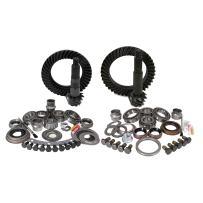 Yukon Gear & Axle (YGK007) Install Kit for Jeep TJ Dana 30 Front Dana 44 Rear, 4.56 Ratio)