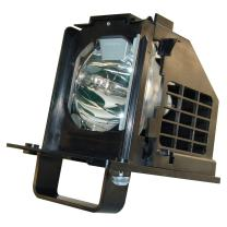 AuraBeam Economy Replacement Television Lamp for Mitsubishi WD-73C10 with Housing