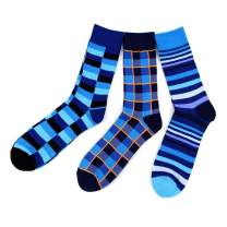 Ivory Mason Mens Dress Socks - Colorful Fun Socks for Men - 3 Pack…