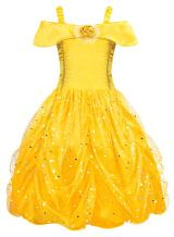 AmzBarley Princess Costume for Girls Fancy Party Deluxe Beauty Kids Dress up Outfits