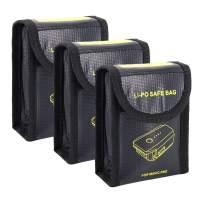 Beyondsky Mavic pro Battery Safe Bag Explosionproof Resistant Battery Charging Storage Fireproof Battery Portable Bag for DJI Mavic Pro/ DJI Mavic 2 Zoom/Pro (#1)