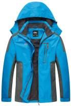 Diamond Candy Waterproof Rain Jacket Women Lightweight Outdoor Raincoat Hooded for Hiking