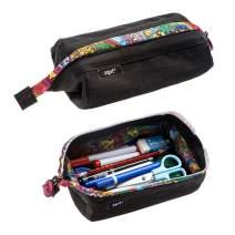 ZIPIT Lenny Pencil Case, Black