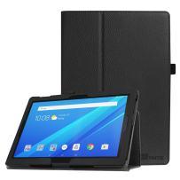 Fintie Case for Lenovo Tab 4 10 / Tab 4 Plus 10 / AT&T Lenovo Moto Tab/TAB E10 TB-X104F 10.1-Inch Tablet - Premium PU Leather Folio Stand Cover with Auto Sleep/Wake, Black
