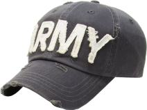 US Army Theme Hats Collection Vintage Adjustable Cap Tactical Operator Fashion Trucker Twill Mesh