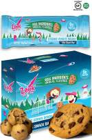 Zeek Kids Protein Bars- High Protein, Low Sugar Snack Bar for Kids. Picky Eater Approved and Real Ingredients! | Gluten Free, Soy Free