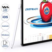 Stylus Pens for Touch Screens, EURPMASK Fine Point Stylist Pen Compatible for iPhone iPad Pro and Other Capacitive Screen Devices, Stylus Pen for Drawing and Handwriting (iOS/Android/Windows)