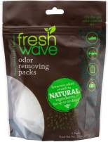 Fresh Wave Odor Eliminating & Deodorizing Packs, Bag of 6
