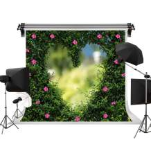 Kate 7x5ft/2.2m(W) x1.5m(H) Wedding Photo Backdrops Spring Wedding Party Backgrounds Green Grass Backdrop Photography Studio Love Background Props