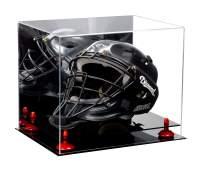 Better Display Cases Acrylic Catchers or Goalie Helmet Display Case