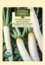 Seeds of Change S10754 Certified Organic Miyashige Daikon Radish