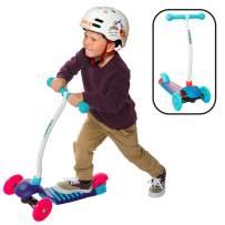 YBIKE Kids GLX Cruze 3-Wheel Kick Scooter
