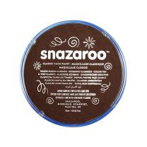 Snazaroo Classic Face and Body Paint, M, Dark Brown, 6 Fl Oz