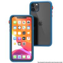 Catalyst - Case For iPhone 11 Pro Max Case with Clear Back, Heavy Duty 10ft Drop Proof, Truss Cushioning System,Rotating Mute Switch Toggle, Compatible with Wireless Charging,Lanyard- Blueridge/Sunset