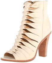 FRYE Women's Sofia Braided Peep Gladiator Boot