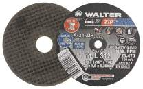 Walter 11L251 ZIP Performance Cutting and Grinding Cutoff Wheel - [Pack of 25] A-24-ZIP Grit, 2 in. Abrasive Wheel. Abrasive and Finishing Supplies