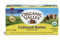 Organic Valley, Organic Cultured Unsalted Butter - 16 oz