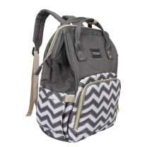Baby Diaper Bag Backpack, Waterproof Nappy Bags Travel Gear