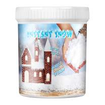 TIME4DEALS Instant Snow Powder for Slime Fake Snow Makes 5 Gallons of Artificial Snow Super Snow Powder Magic Snow Maker Kit Instant Snow Powder for Colorful Slime Science Activities Party Decorating