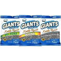GIANTS Kettle Roast Sunflower Seed Variety Pack, 12 packs - 5 oz. bags