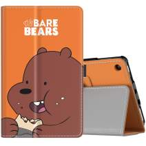 TiMOVO Case Fits All-New Fire 7 Tablet (9th Generation, 2019 Release) - Lightweight Smart Shell Slim Folding Cover Case with Auto Wake/Sleep Fit Amazon Fire 7 Tablet - Bare Bears