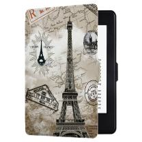 Huasiru Painting Case for Kindle Paperwhite, Retro Tower - fits All Paperwhite Gens Prior to 2018 (Will not fit All-New Paperwhite 10th Gen)