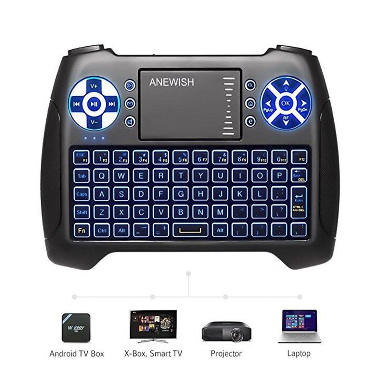 SPOT-ON Mini Rechargeable Backlight Wireless Keyboard 2.4Ghz