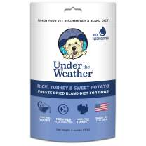 Under the Weather Pets   Easy to Digest Bland Dog Food Diet, Sick Dogs Sensitive Stomachs - Electrolytes - Gluten Free, All Natural, Freeze Dried 100% Human Grade Meat