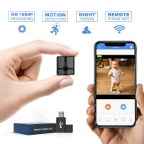 Mini Spy Camera WiFi, Ehomful 1080P HD Wireless Hidden Camera Live Streaming with App,Cop Spy Cam Seen On TV, Nanny Cam,Keep Your Home and Family Safe from Potential Thieves, Burglars or Damage