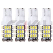 cciyu 4x T10 White Car 42-smd Backup Reverse LED Light Bulb 921 912 906 168 192 W5W