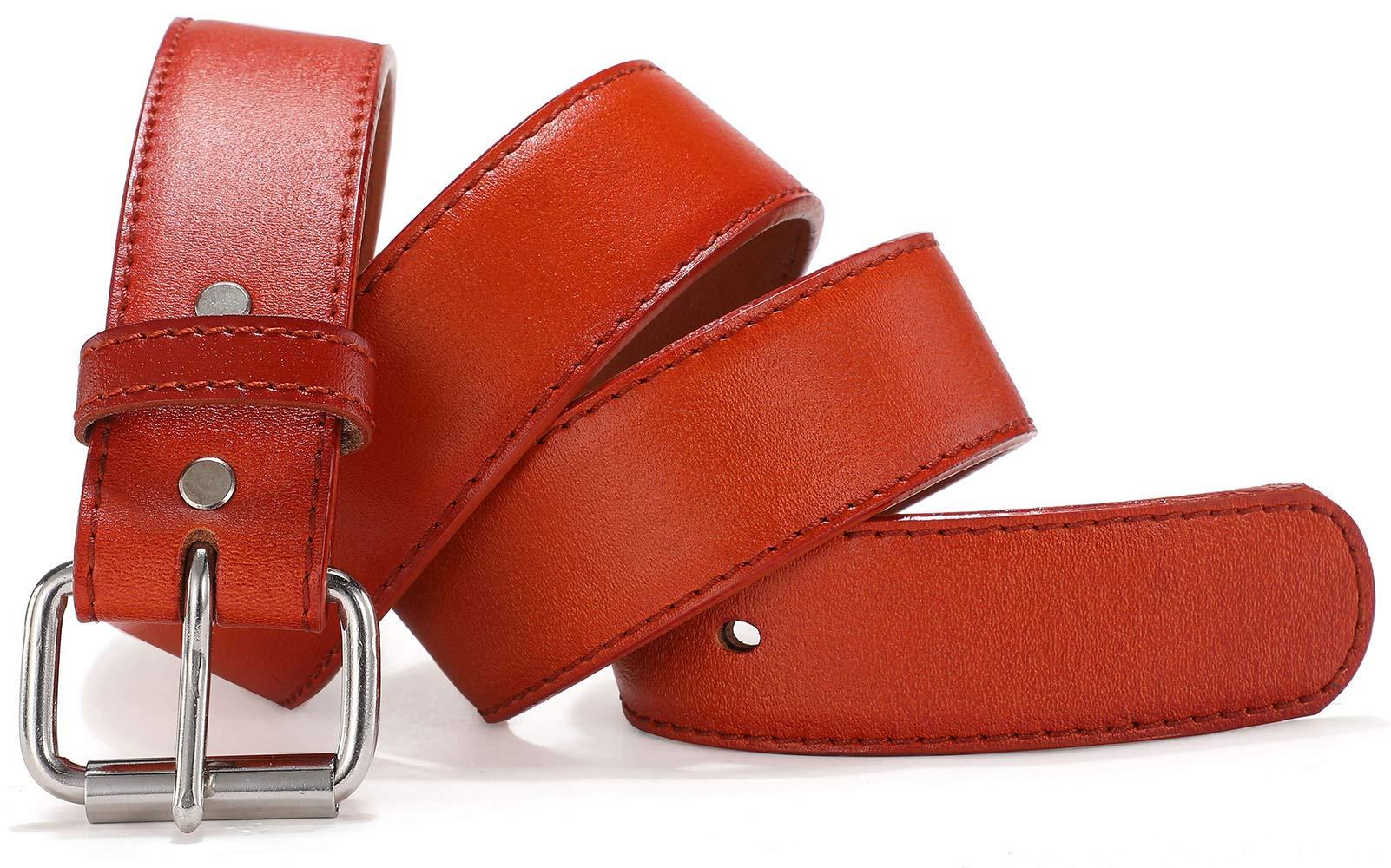 XGeek Concealed Carry CCW Leather Gun Belt | Genuine Leather Belt for Gun Carry | Mens Heavy Duty EDC Belt 1 1/2-Inch