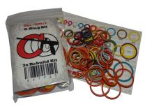 Captain O-Ring DLX Luxe ICE - Color Coded 3X Oring Rebuild Kit