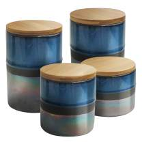 American Atelier Abingdon Canister Set, 17 x 4.2 x 8, Blue