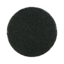 """Mercer Industries 45015B Floor Maintenance Pads, 5 Pack, 15"""", Black"""