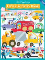 The Piggy Story 'Crazy Car Town' Little Activity Booklet for Kids on The Go 2-Pack
