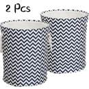 """LinTimes 2 Pcs Large Laundry Baskets, Collapsible Laundry Hampers Bins, 17"""" x 17"""" x 20"""""""