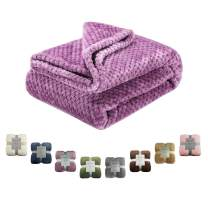 Msicyness Dog Blanket, Premium Fleece Fluffy Throw Blankets Soft and Warm Covers for Pets Dogs Cats(X Large Purple)
