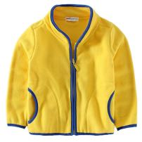 REWANGOING Baby Kid Little Boy Girls Casual Zipper Fleece Jackets Coat Outerwear